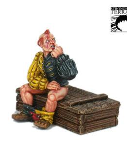 "Miniatur ""Denker Pose""-434"