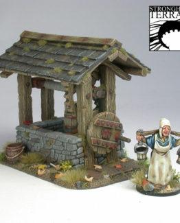 Brunnen + Wasserträgerin-0