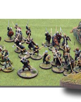 SAGA Armee: 6 Punkte Anglodänen -0
