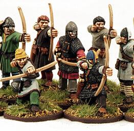 Normannische Bogenschützen (12) Bauern-0