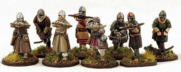 Normannische Armbrustschützen (8) Krieger-0