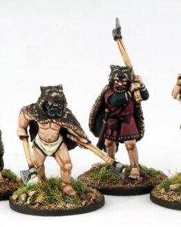 Wikinger Berserker (4) Veteranen-0