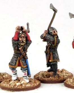 Warägergarde mit Dänenäxten (4) Veteranen-0