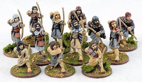 Schotten Bauern mit Bögen (12)-0