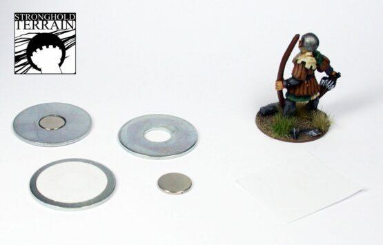 6 Punkte Wikinger (KUNSTSTOFF) -901