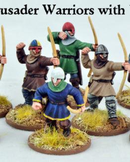 Kreuzfahrer Krieger mit Bögen (8)-0