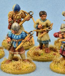 Kreuzfahrer/Ritterorden Krieger mit Armbrüsten (8)-0