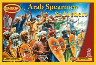 Arab Spearmen and Archers (40)-0