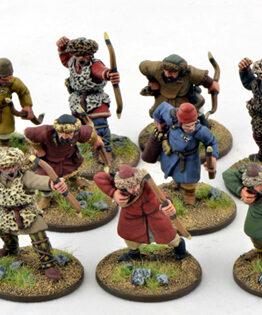 Sarazenen Bauern mit Bögen (12)-0