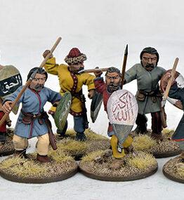 Sarazenen Krieger zu Fuß (8)-0
