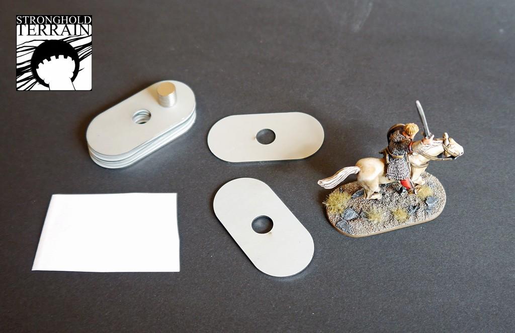 25 x 50 mm magnetisierte Kavalleriebases (8)-0