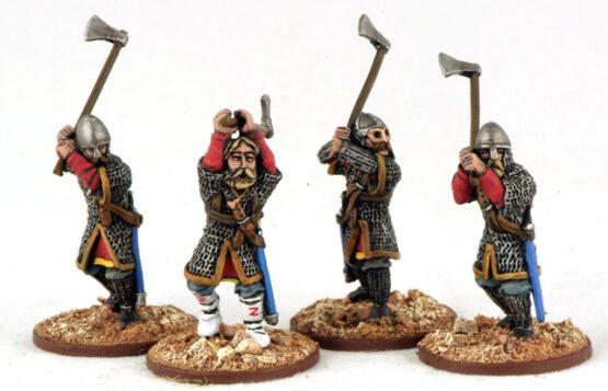 Harald Hadraddas Warägergarde mit Dänenäxten (4) Veteranen-0