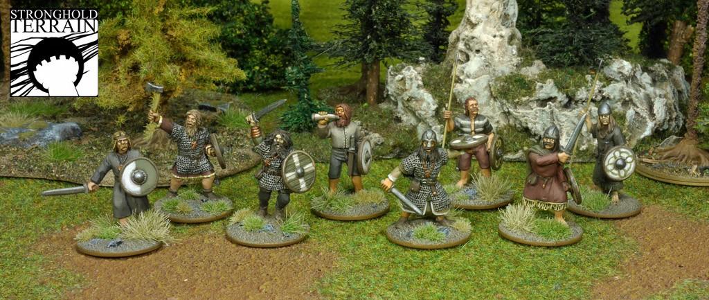 SAGA Starter Armee: Alternative 4 Punkte Iren/Waliser (Footsore miniatures)-1330