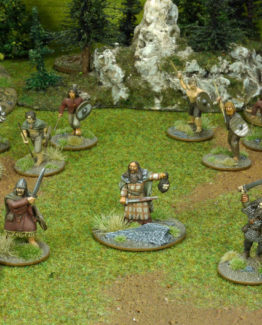SAGA Starter Armee: Alternative 4 Punkte Iren/Waliser (Footsore miniatures)-0