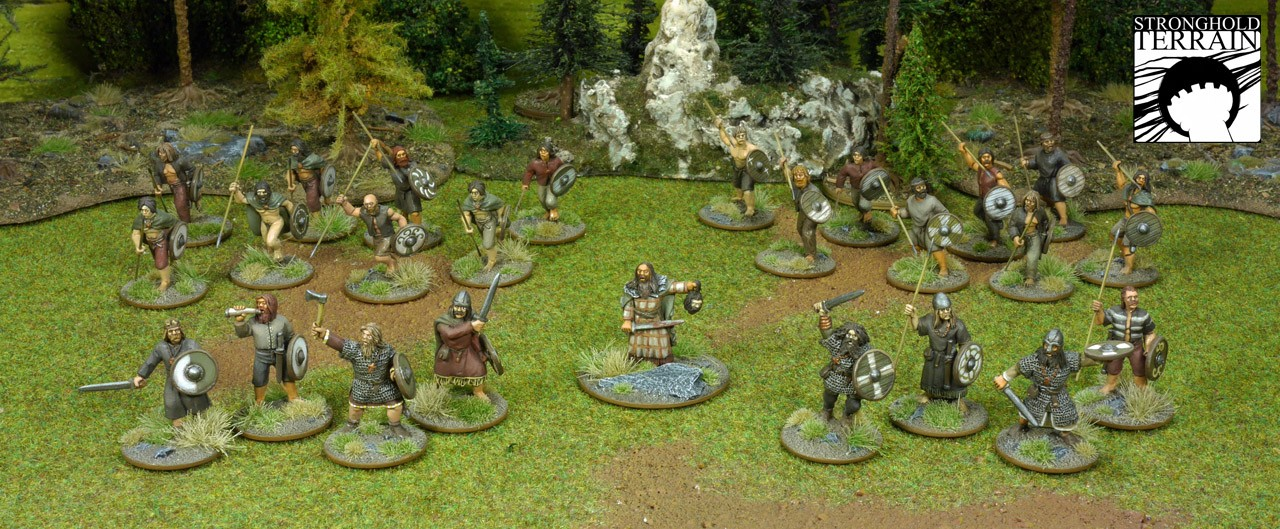 SAGA Starter Armee: Alternative 4 Punkte Iren/Waliser (Footsore miniatures)-0