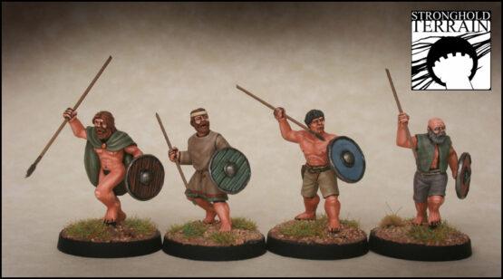 Iren/Waliser Krieger (8) (Footsore miniatures)-1325