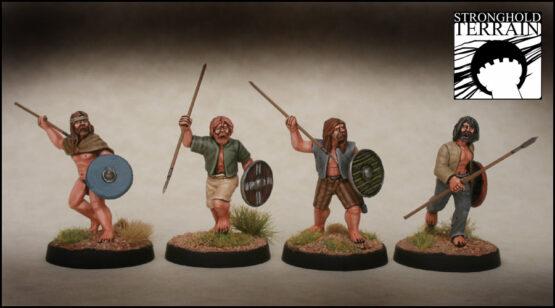 Iren/Waliser Krieger (8) (Footsore miniatures)-1326