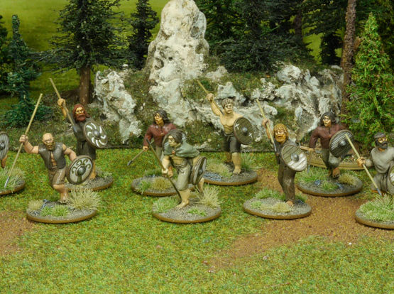 SAGA Starter Armee: Alternative 4 Punkte Iren/Waliser (Footsore miniatures)-1332