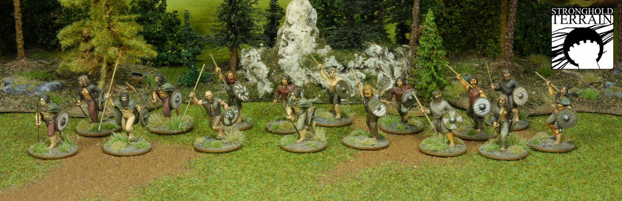 SAGA Starter Armee: Alternative 4 Punkte Iren/Waliser (Footsore miniatures)-1332