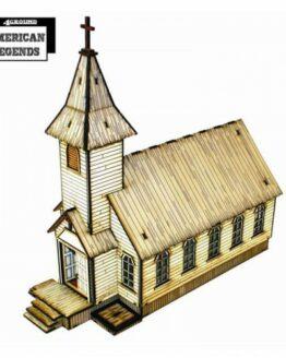 Rev. Johnson's Church Sub Base-1502
