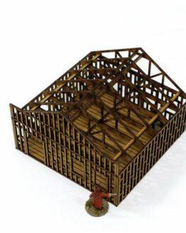 Single Storey Building Under Construction-0