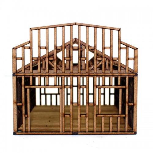 Single Storey Small Building Under Construction-1541