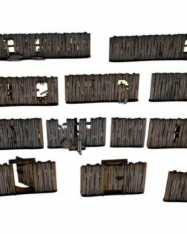 Yard Panel Fencing (with gates)-1687