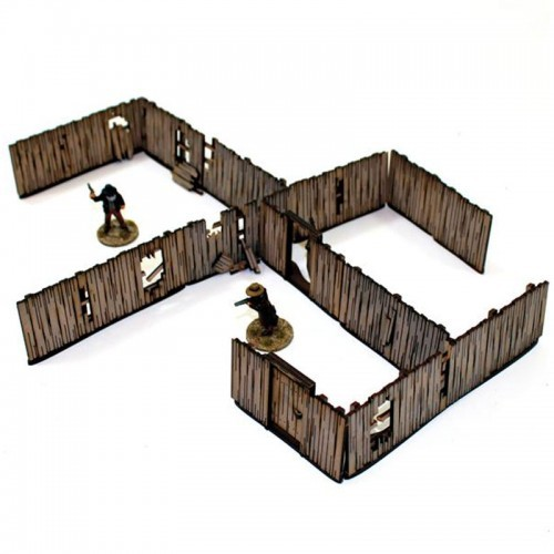 Yard Panel Fencing (with gates)-0