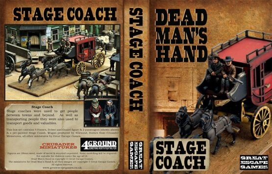 Dead Man's Hand Stage Coach Set -0
