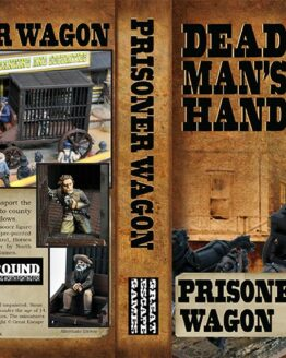 Dead Man's Hand Prisoner Wagon Set -0