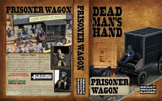 Dead Man's Hand Prisoner Wagon Set -0