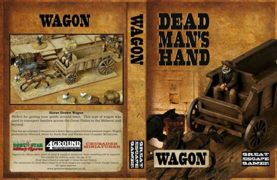 Dead Man's Hand Wagon Set -0