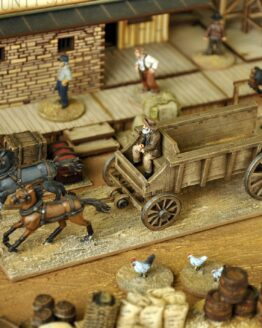 Dead Man's Hand Wagon Set -1715
