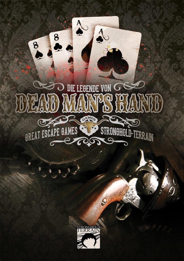 Dead Man`s Hand Regelbuch (Deutsch) -0