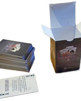 Dead Man`s Hand Spielkarten (88) (Deutsch) -0