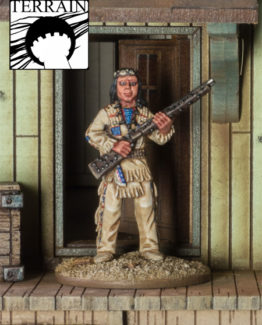 Berühmter Häuptling der Apachen-0