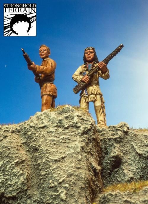 Berühmter Häuptling der Apachen-1831