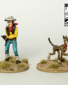 Lonesome Cowboy & Hund-0