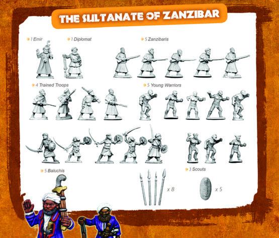 CONGO Box Set 2: The Sultanate of Zanzibar-1874