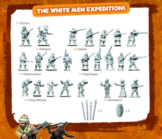 CONGO Box Set 1: The White Men Expedition-1870