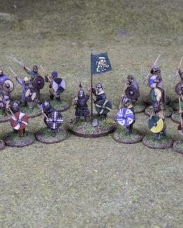 SAGA Starter Armee: 4 Punkte Angelsachsen (Footsore miniatures)-0