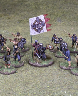 SAGA Starter Armee: 4 Punkte Iren (Footsore miniatures)-0
