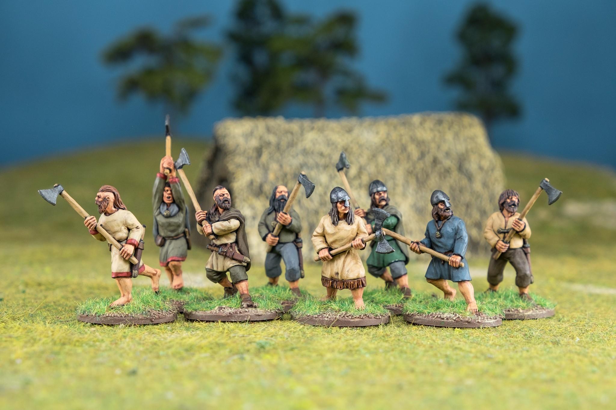 SAGA Starter Armee: 4 Punkte Iren (Footsore miniatures)-1909