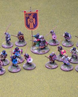 SAGA Starter Armee: 4 Punkte frühe Angelsachsen (Footsore miniatures)-0