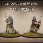 Lancelot & Merlin (2) (Footsore miniatures)-0