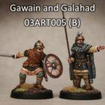 Gawain & Galahad (2) (Footsore miniatures)-0