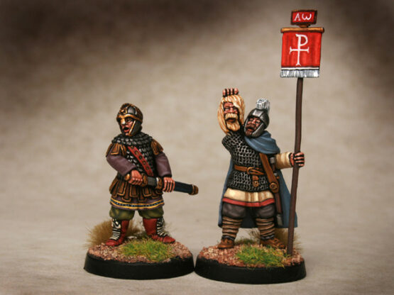 Sachsen Vortigern - Kriegsherr Britanniens (2) (Footsore miniatures)-0