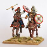 Gothen berittene Champions (2) (Footsore miniatures)-0