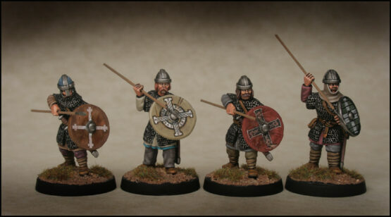 Angelsachsen Veteranen (4) (Footsore miniatures)-0