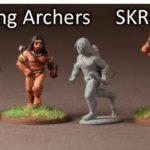 Skraelinger Bogenschützen (12) (Footsore miniatures)-0